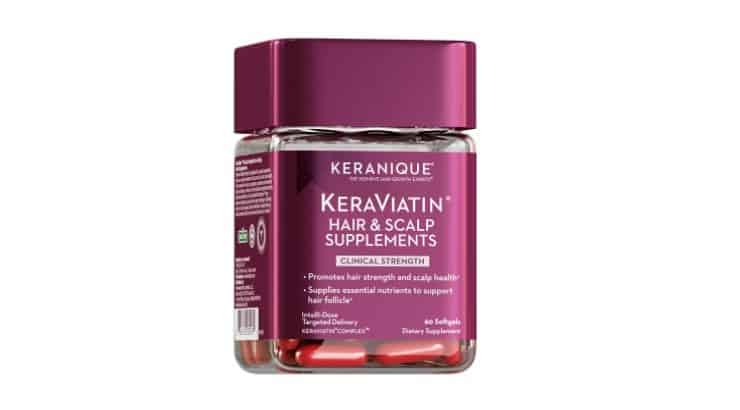 Ther Keranique KeraViatin Hair and Scalp Health Supplements are a blend of vitamins, minerals, micro-nutrients, and phyto-nutrients.