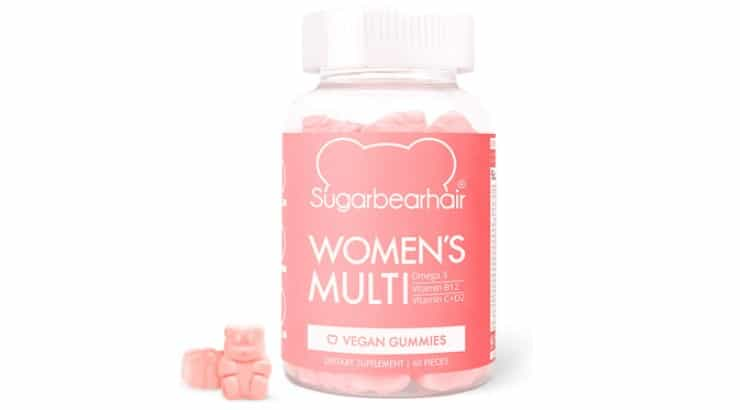 SugarBearHair Hair Vitamins contain Omega-3 fatty acids as well as Vitamins B, C, D, and E.