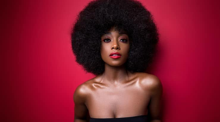 The best way to grow an afro is by keeping the body healthy and protecting the hair from outside damage.
