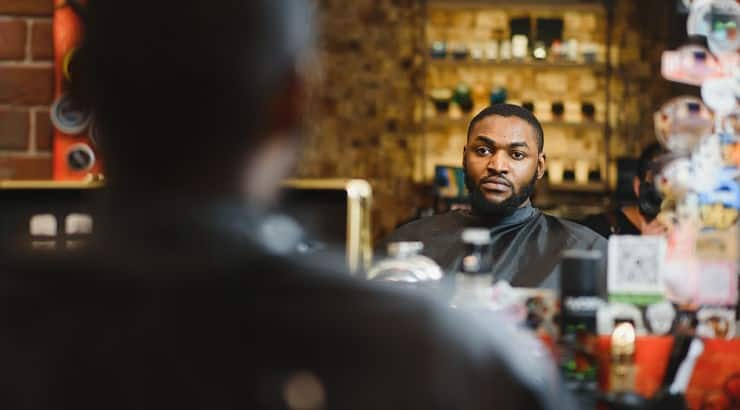 The right barber can give clients great tips on how to take care of and styling hair.