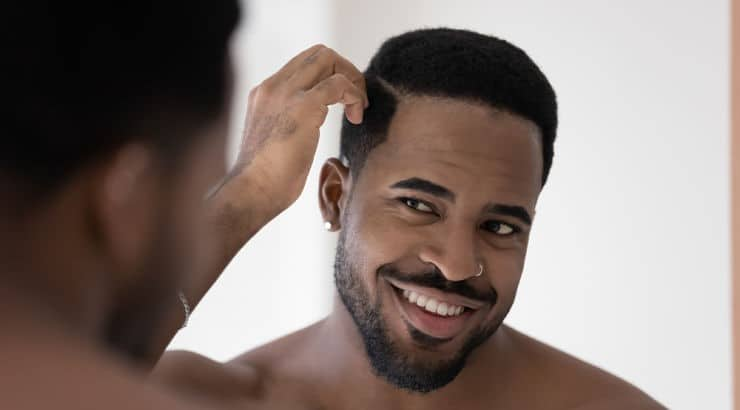 Hair moisturizers are as important for Black men as they are for Black women.