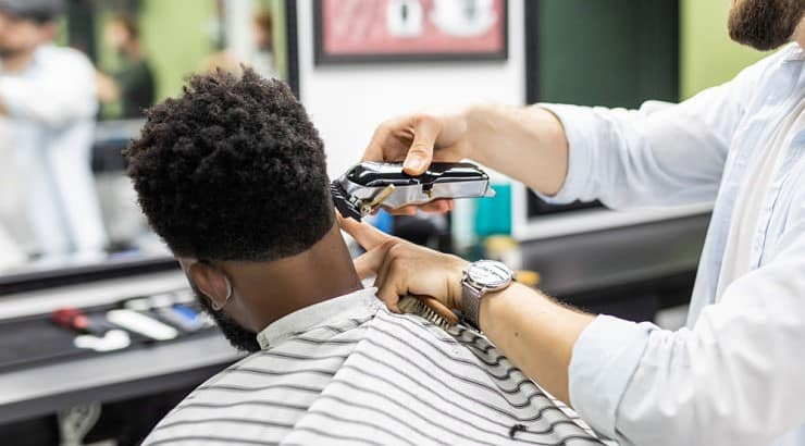 Black men might need different clippers because of the thick texture of their hair.