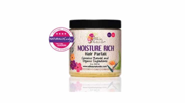 Alikay Naturals Moisture Rich Parfait is made from a Black-owned brand that caters their products to POC.