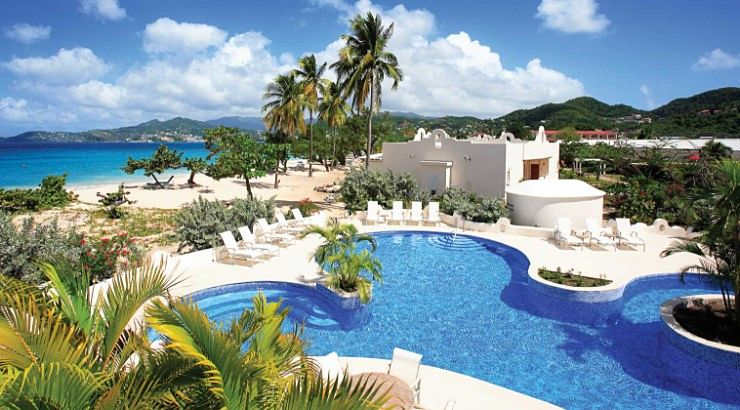 Spice island Beach Resort is an ode to Grenada's leading export of nutmeg.