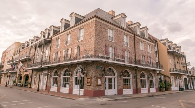Maison Dupuy in New Orleans is located in the popular French Quarter of the city.