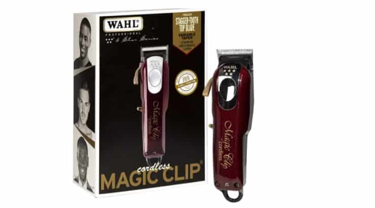 Wahl Professional 5-Star Clippers feature a cordless design for ease of use.