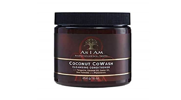 As I Am Coconut CoWash Cleansing Conditioner provides slip which helps product spread easily throughout hair and makes detangling easier.
