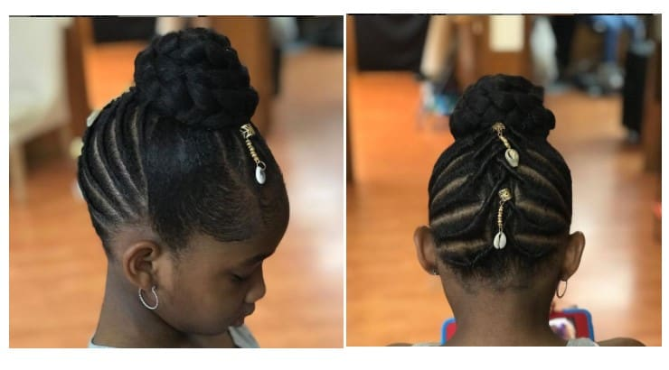 Twists and braids are at the foundation of most hairstyles for Black girls.