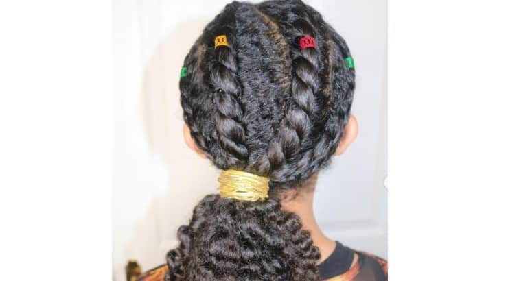 Hairstyles for little Black girls are often left to show off their true texture.