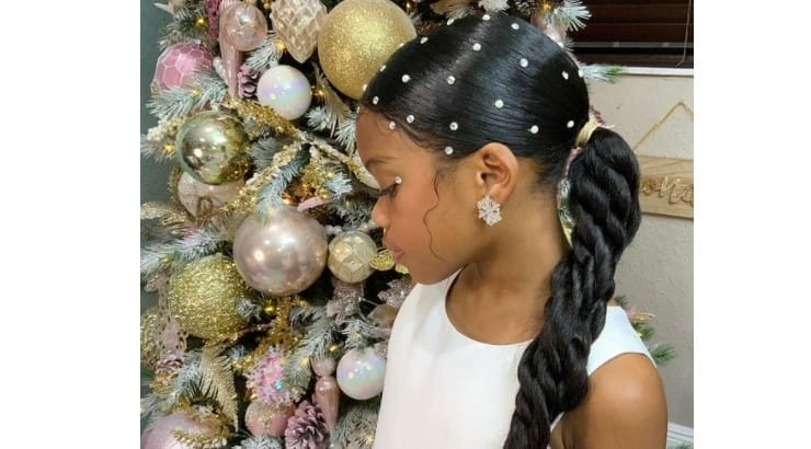 Twists can be combined to form a number of different hairstyles.