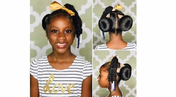Sock buns are a quick hair style that instantly add a level of effort to any look.