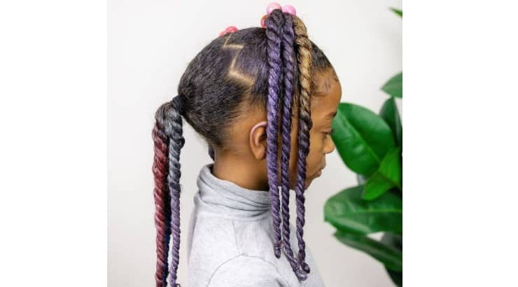 Brands like L'Oreal offer temporary hair dye that is safe to use on natural hair.