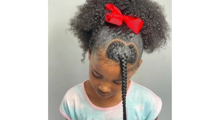 Small details like adding a braid can quickly elevate a hair style.
