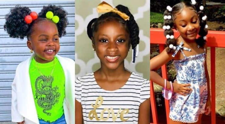27 Adorable Natural Hairstyles For Little Girls