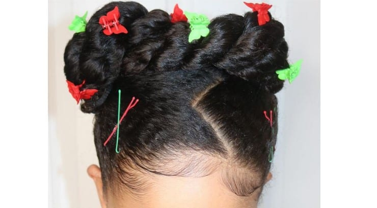 For many styles that include twists, they can be swapped out with braids.