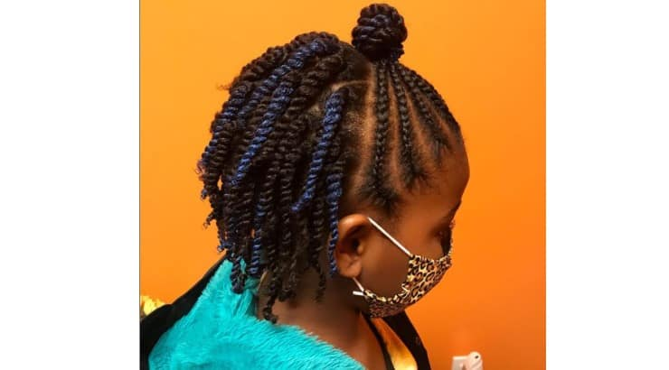 Some haircare brands sell temporary dye that can be added to braids and twists to create dimension.