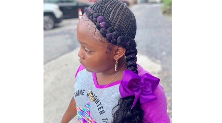 Cornrows are a popular way of braiding hair that are a higher difficulty that free braids.