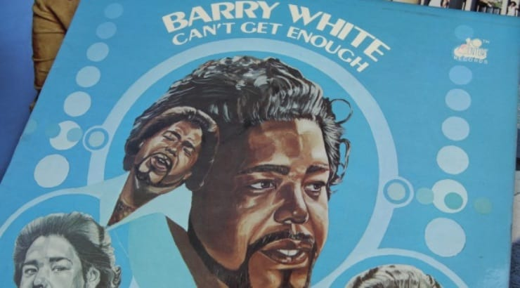 Barry White, a black male singer In the 70s