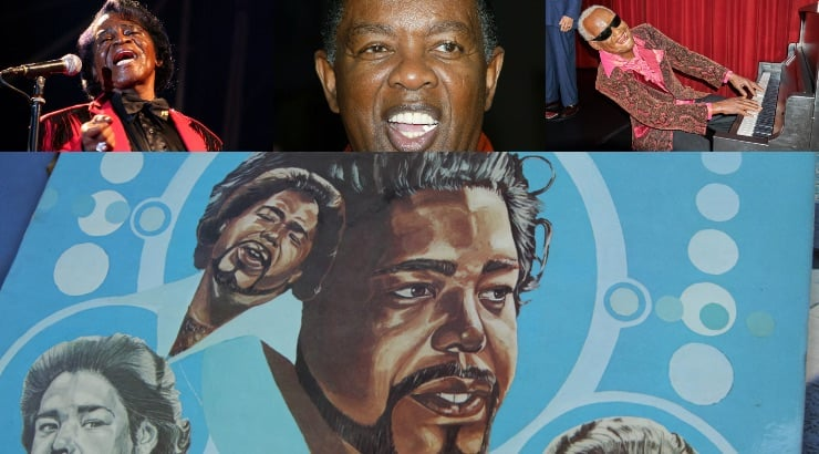 Top Black Male Singers Of The 70s