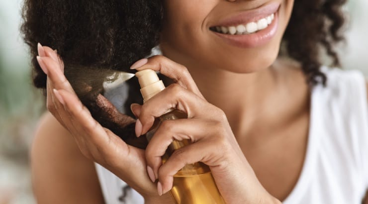 Use The Right Products For Thicker Hair