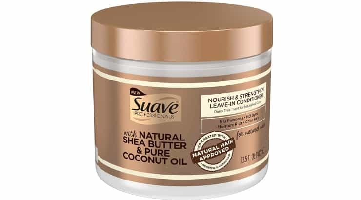 Suave Professionals Natural Shea Butter Coconut Nourish & Strengthen Leave-In Conditioner