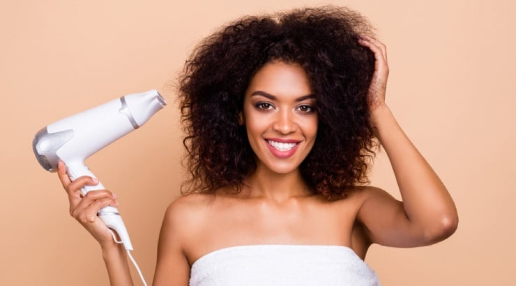 Blow Dry with Cool Air