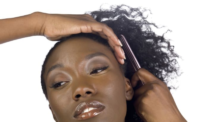 Section & Detangle Your Hair