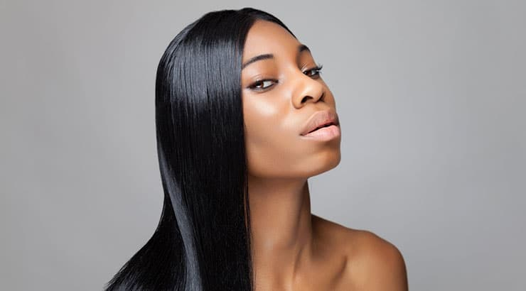 Best Products To Keep Black Hair Straight After Straightening It
